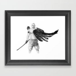 noirwing Framed Art Print