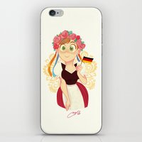 germany iPhone & iPod Skins featuring Germany by Melissa Ballesteros Parada