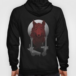 The Red Wolf Hoody
