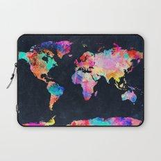 World map Laptop Sleeve