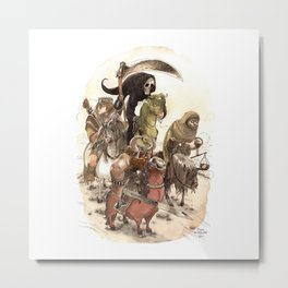 Four Horsemen Metal Print