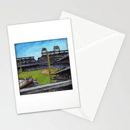 Baseball Park Stationery Cards