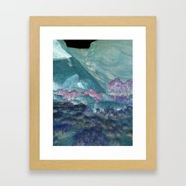 Crystal Deserts Framed Art Print