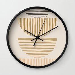 stacks Wall Clock