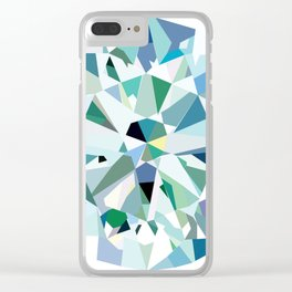 Solitaire Diamond Clear iPhone Case