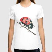 ladybug T-shirts featuring Ladybug by Sam Luotonen