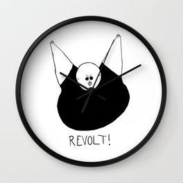 Revolt Two Wall Clock
