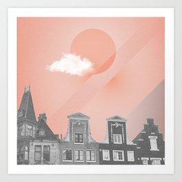 Amsterdam at Night Art Print