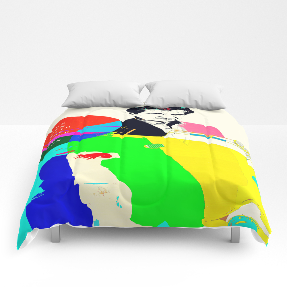 The Man With The Golden Gun Comforter by Aleczg CMF873010