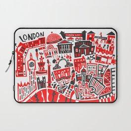 London Map Laptop Sleeve
