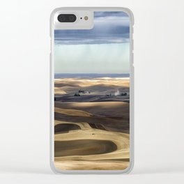 Velvet Hills Clear iPhone Case