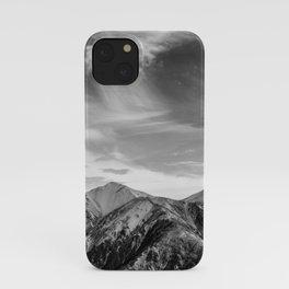 Mount Hutt Sky iPhone Case