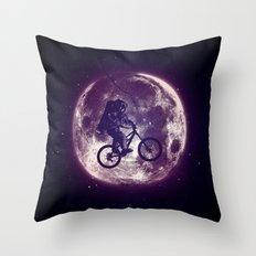 E.T.B. (variant 2) Throw Pillow
