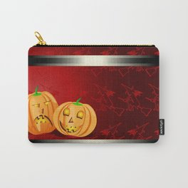 Pumpkins and spooky witches Carry-All Pouch