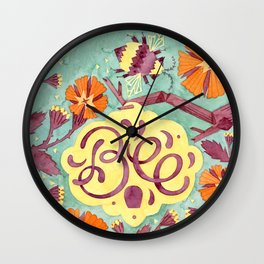 Persistence is Bee Wall Clock