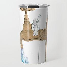 Paper Faucet Travel Mug