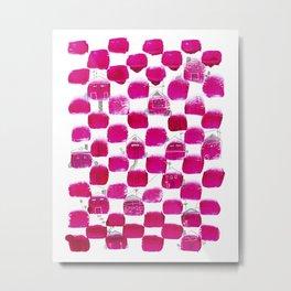 Little Pink Houses Metal Print