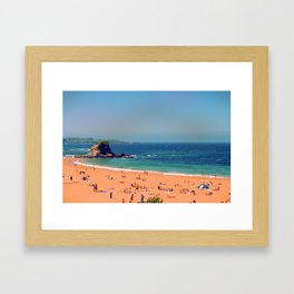 Summer in the North of Spain Framed Art Print