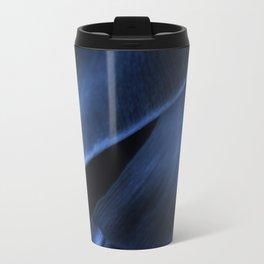 Succulent Leaf In Blue Color #decor #society6 #homedecor Travel Mug