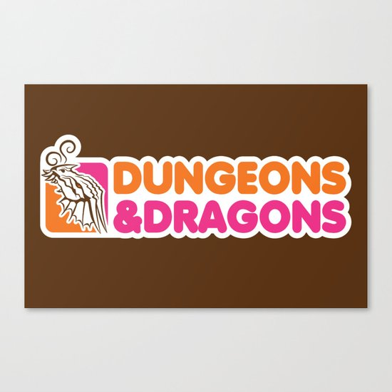 D&D All Nighter Canvas Print