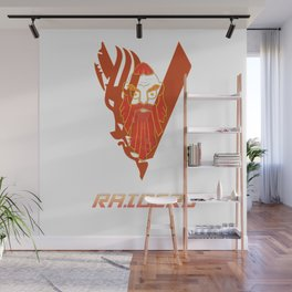 RAIDERS! Wall Mural