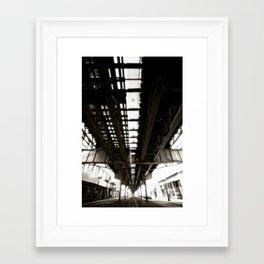 "Beneath the ""L"" Train - Chicago Framed Art Print"