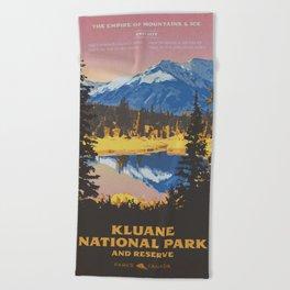 Kluane National Park and Reserve Beach Towel