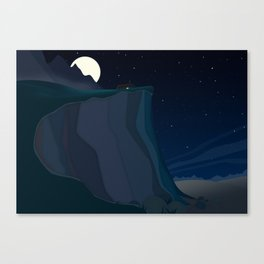 fairy landscape (at night) Canvas Print
