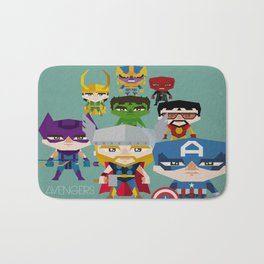 avengers 2 fan art Bath Mat