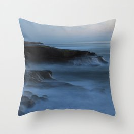 Ocean Beach San Diego Ca, Sunset Throw Pillow