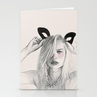 catwoman Stationery Cards featuring Catwoman  by Aeriz85