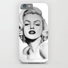Marilyn Monroe portrait iPhone 6s Slim Case