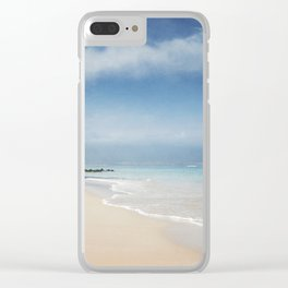 Walking out of Silence Clear iPhone Case