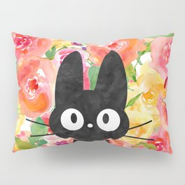 Jiji in Bloom Pillow Sham