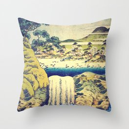 To Pale the Rains in August Throw Pillow