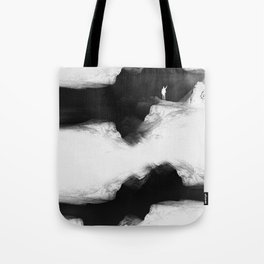 Hello from the The White World Tote Bag