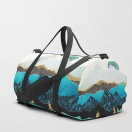 Teal Afternoon Duffle Bag