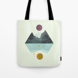 Storm and Calm Tote Bag
