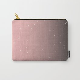 Keep On Shining - Pink Mist Carry-All Pouch