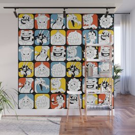 Cuphead - Bosses Wall Mural