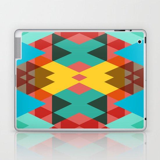 Geometric Crazy 3D Laptop & iPad Skin