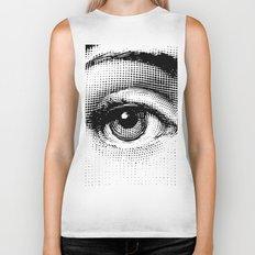 Lina Cavalieri Eye 01 Biker Tank