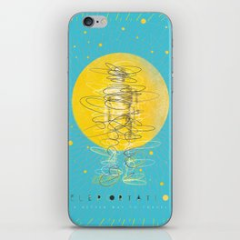 Teleportation - A Better Way to Travel iPhone Skin