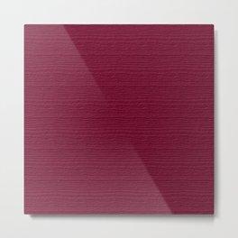 Anemone Wood Grain Color Accent Metal Print