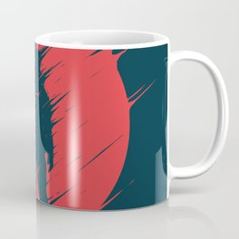 Red Sphere Coffee Mug