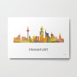 Frankfurt, Germany skyline Metal Print