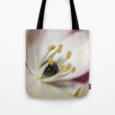 White Flower Tote Bag