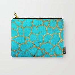 Turquoise Stone Carry-All Pouch