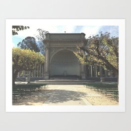 Temple Of Music // Golden Gate Park Art Print