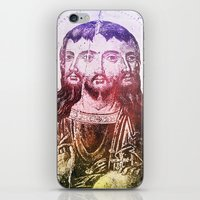 christ iPhone & iPod Skins featuring Thrice Christ by EclecticArtistACS